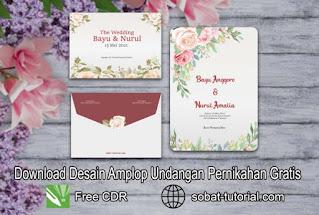 Download Amplop Undangan Pernikahan CDR
