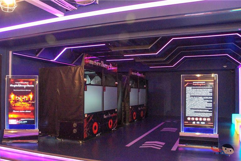 Immersive escape VR game in The Garage, City of Dreams
