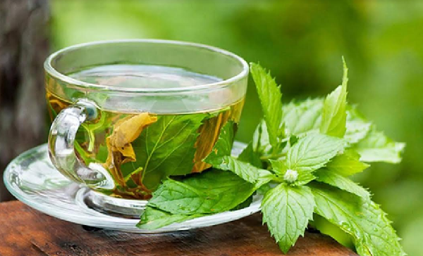 What are the benefits of mint for slimming?