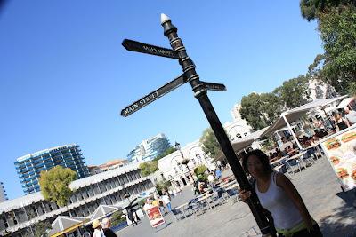 Casemates Square in Gibraltar