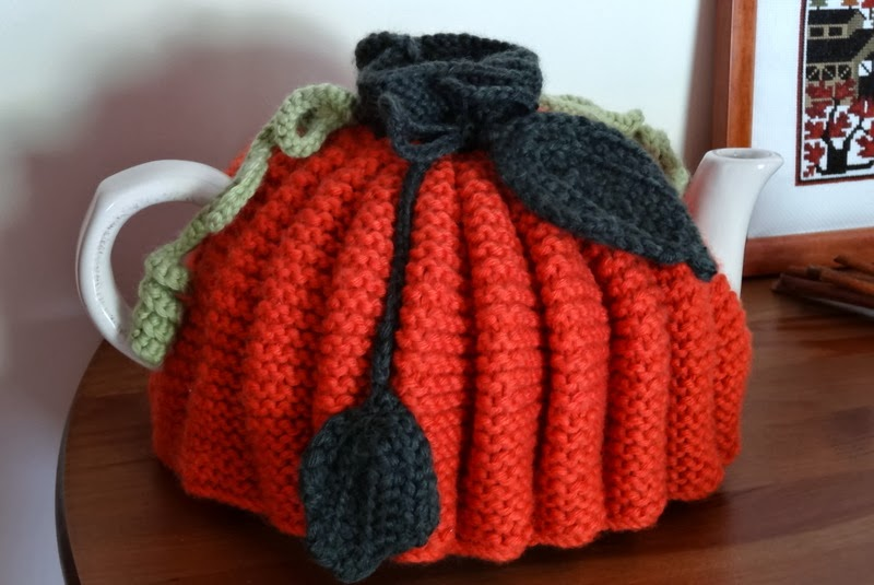 couvre théière en tricot