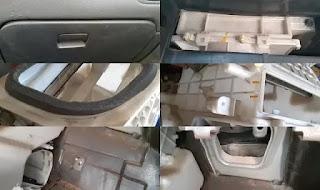 تنظيف ثلاجة مكيف السيارة