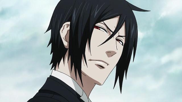 Sebastian Black Butler Demon Anime Character