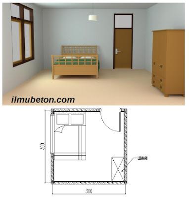 Pengaturan Ruangan Kamar Tidur