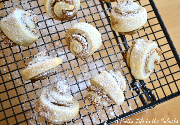 Apricot Pecan Rugelach {A Pretty Life}