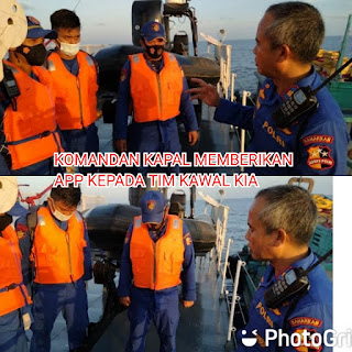KP.BISMA -8001 Korpolairud Baharkam polri berhasil mengamankan dua unit kapal ikan Asing berbendera Vitnam