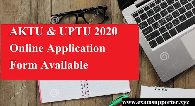 UPTU admission form 2020