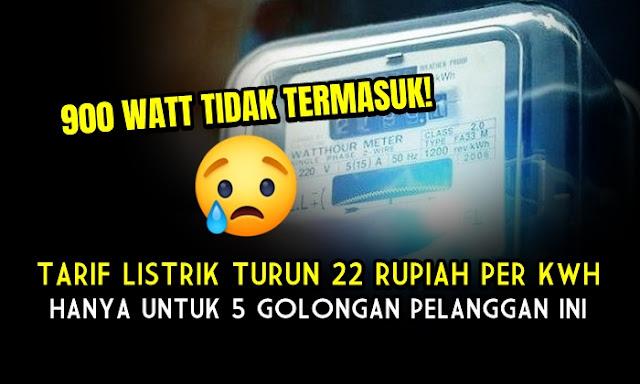 Tarif Listrik Bakal Turun Rp 22 Per Kwh, Pemerintah: Silahkan Dinikmati!
