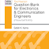 Pearson: Question Bank for Electronics and Communication Engineers E-Book Free Download