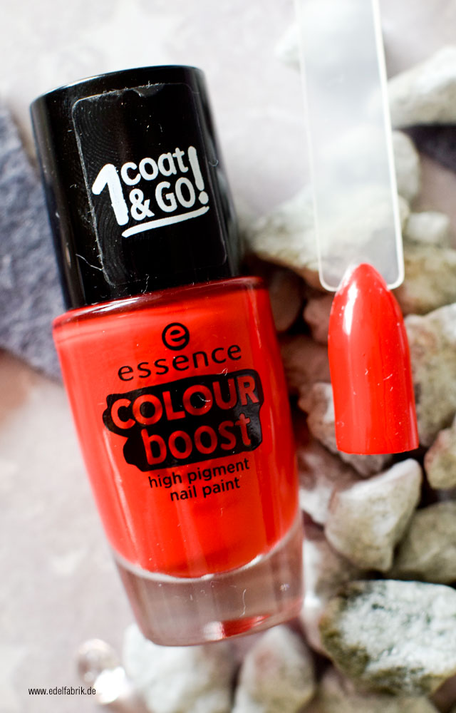 essence color boost, 03 instant kiss, swatch
