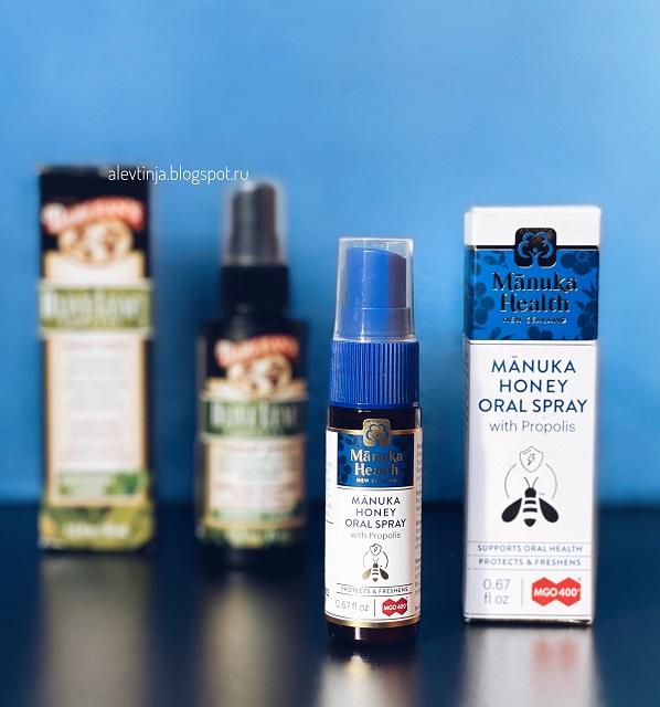 Manuka Health, Manuka Honey Oral Spray with Propolis