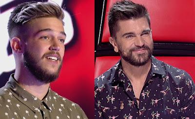 Juanes y Pedro Es por ti. Final La Voz 2017