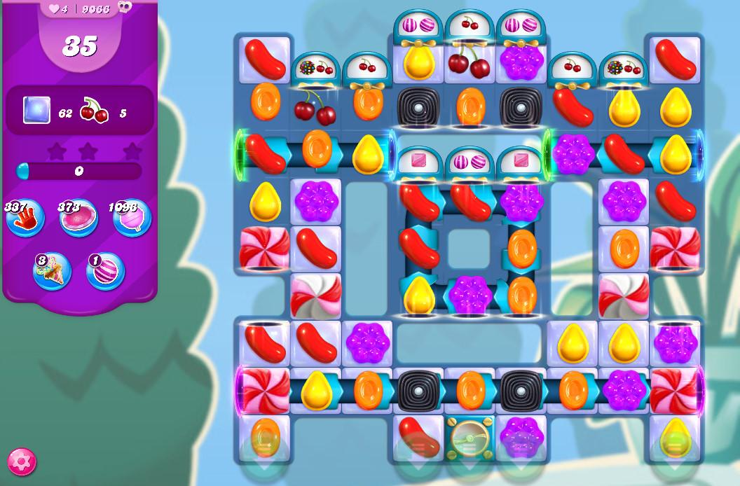 Candy Crush Saga level 9066