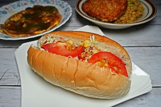 鮪魚玉米沙威瑪
