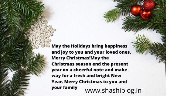 christmas wishes 2021 in hindi & english