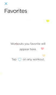 Favorite exercises page
