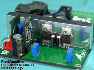 HiFI Discrete Class-D Amplifier UcD pleci by Kartino S.
