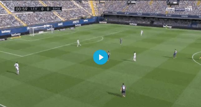 مشاهدة مباراة ريال مدريد وليفانتي بث مباشر اليوم 04-10-2020 في الدوري الاسباني .