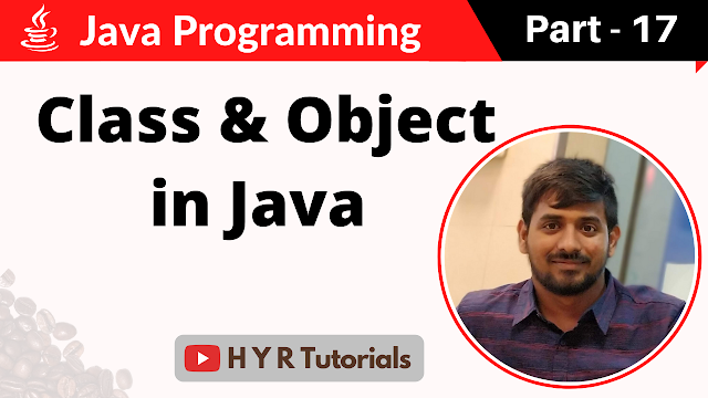 Class and Object in Java