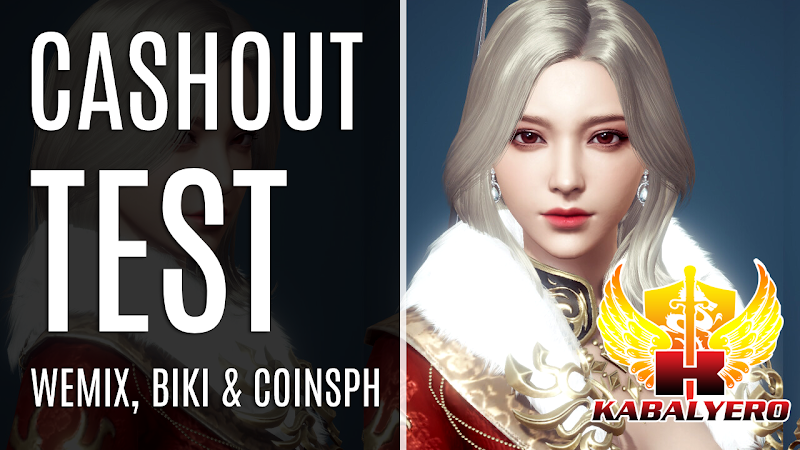 Mir4 Philippines My Cashout Test! From Wemix To Biki To Coinsph (Gaming / Play To Earn)