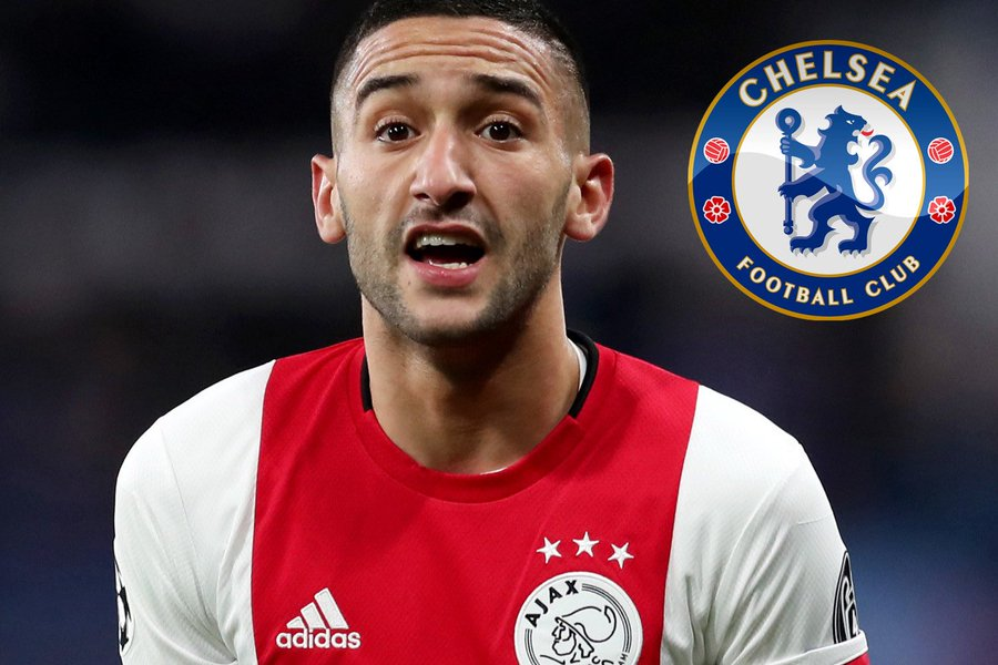 Chelsea Prepare Bid For Ajax Star Hakim Ziyech Ahead Of £150m Summer Spree