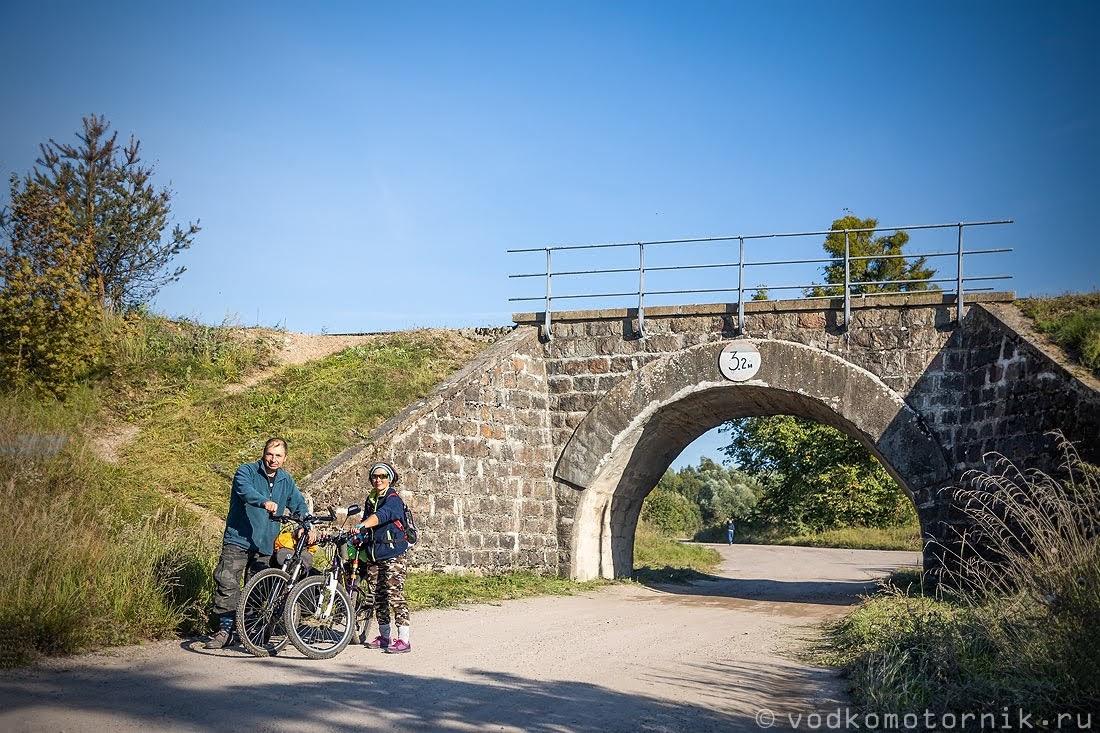 ЖД мост в Краснолесье