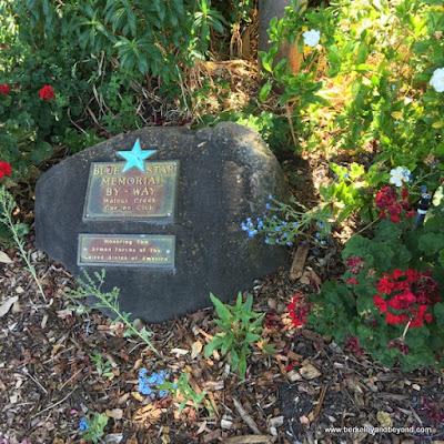 memorial rock in Heather Farm Park in Walnut Creek, California