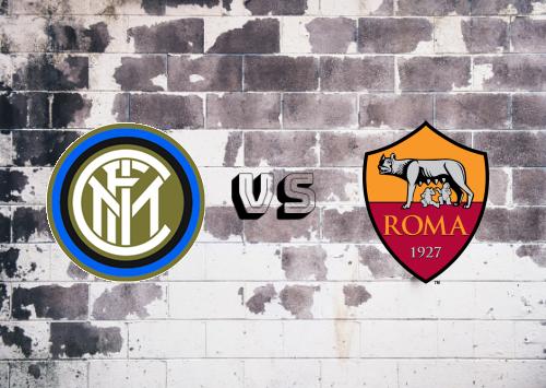 Internazionale vs Roma  Resumen y Partido Completo
