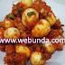 Resep membuat sambel merah telor puyu dan tempe pedas manis