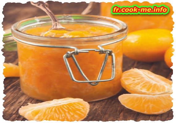 Compote pomme, mandarine et citron vert