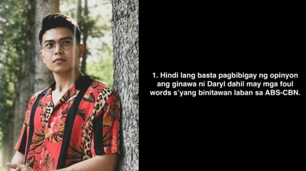 Daryl Ong banned from ABS-CBN? Vlogger reveals