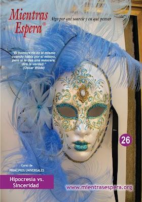 Audio Revista No. 26 HIPOCRESÍA VS SINCERIDAD