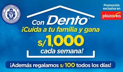 CON DENTO CUIDA A TU FAMILIA Y GANA S/1000 CADA SEMANA