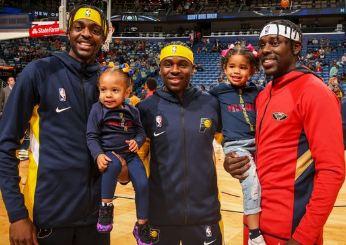 Jrue, Justin,Aaron Holiday,Brothers,NBA