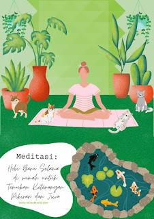 Meditasi hobi baru selama di rumah untuk temukan ketenangan pikiran dan jiwa
