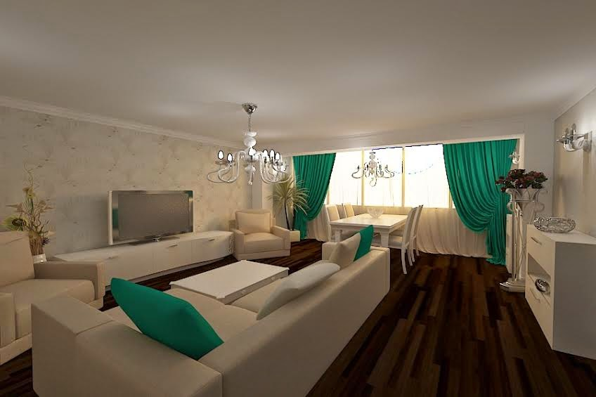 design interior living apartament Constanta