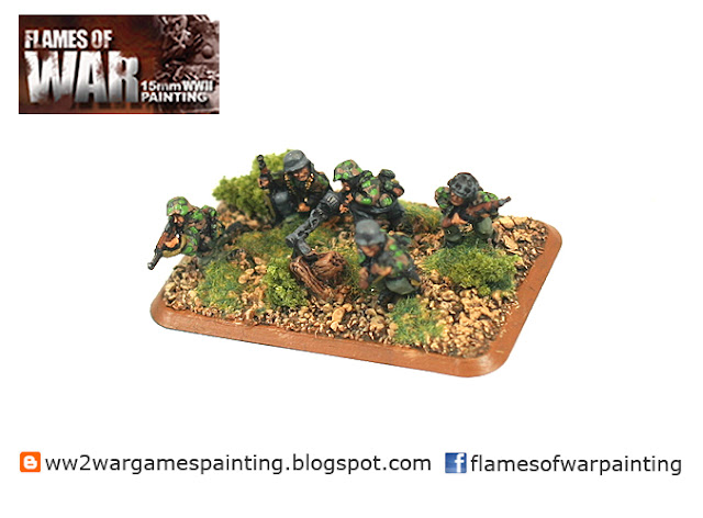 Flames of war painted infantry
