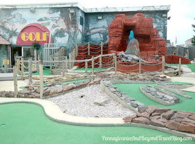Jurassic Mini Golf in North Wildwood, New Jersey