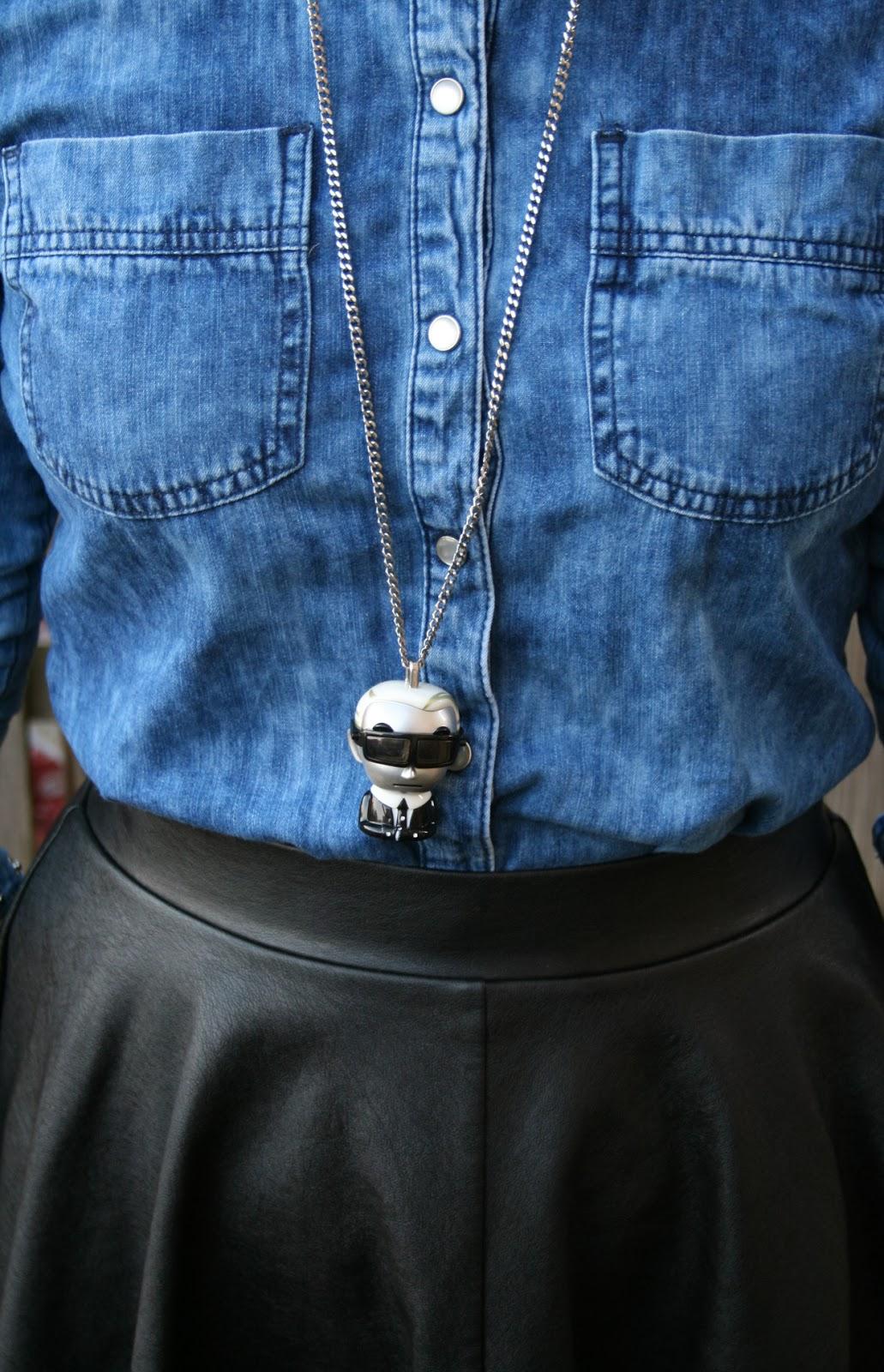 Karl Lagerfeld Tokidoki Necklace