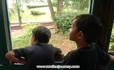 kereta keliling museum transportasi tmii