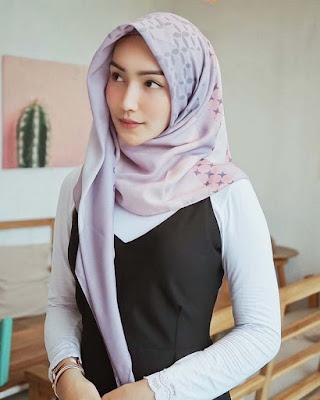 Harga jilbab printing murah dan manis Melody Prima