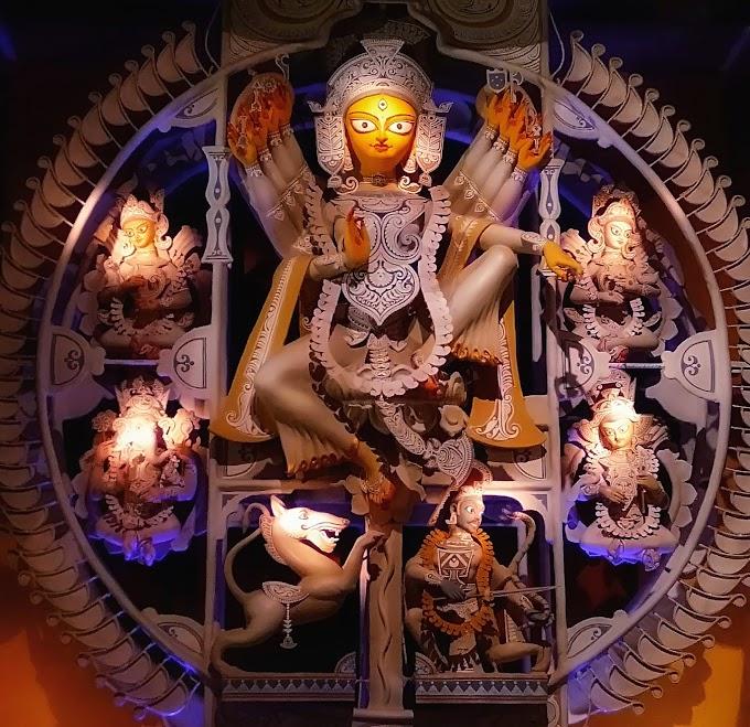 S B park Thakurpukur Durga Puja