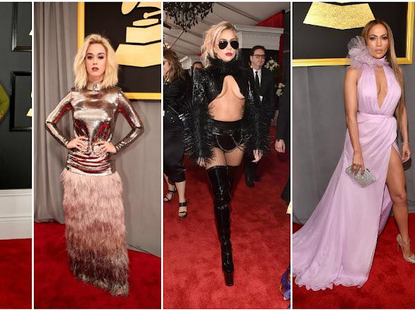 Os Vestidos da Noite - Grammy's 2017