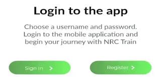 Nigeria Railway Cooperation NRC Mobile App login