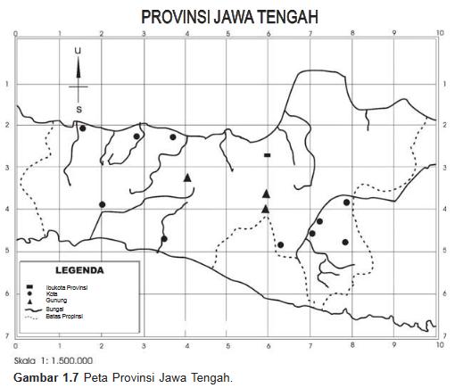 Legenda Provinsi Jawa Tengah