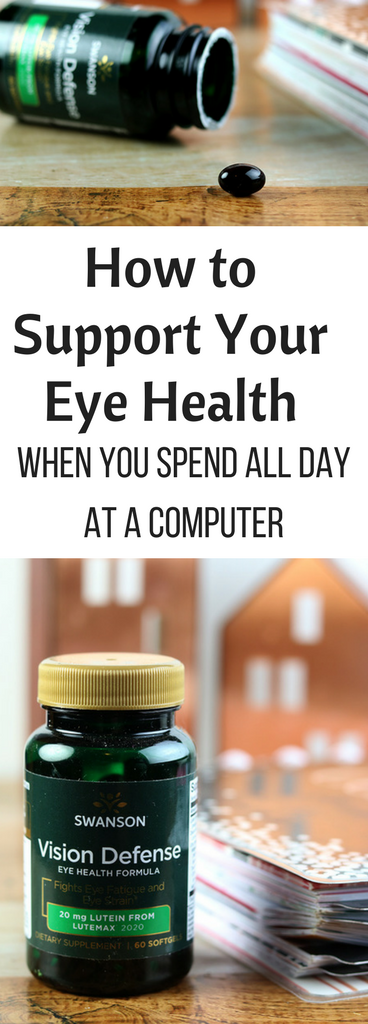 How to Support Your Eye Health When You Spend All Day at a Computer