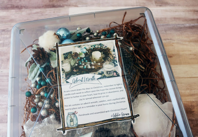 DIY Gift Giving: Advent Wreaths