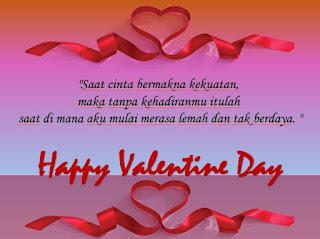 kata  cinta romantis di hari Valentine - kanalmu