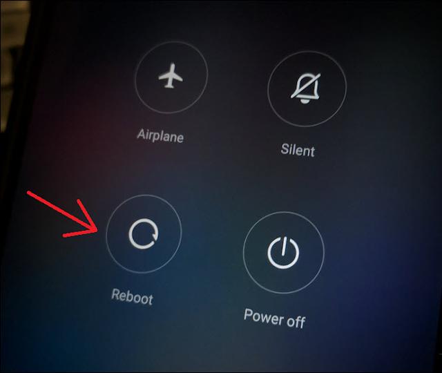 Restart HP Xiaomi Lemot