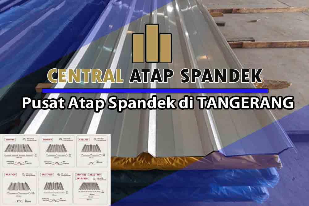 harga atap spandek tangerang per meter dan per lembar terbaru 2021